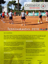 Camelot Tennisvakanties brochure
